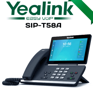 Yealink T58A IP Phone Oman